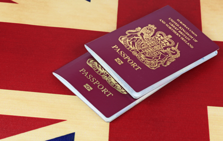 Citizenship - you become a naturalised citizen, like everyone else