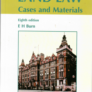 Land law cases and materials front