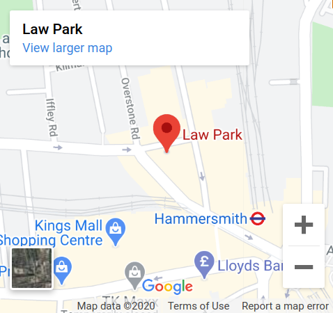 View a larger map of lawpark immigration lawyers location in google map